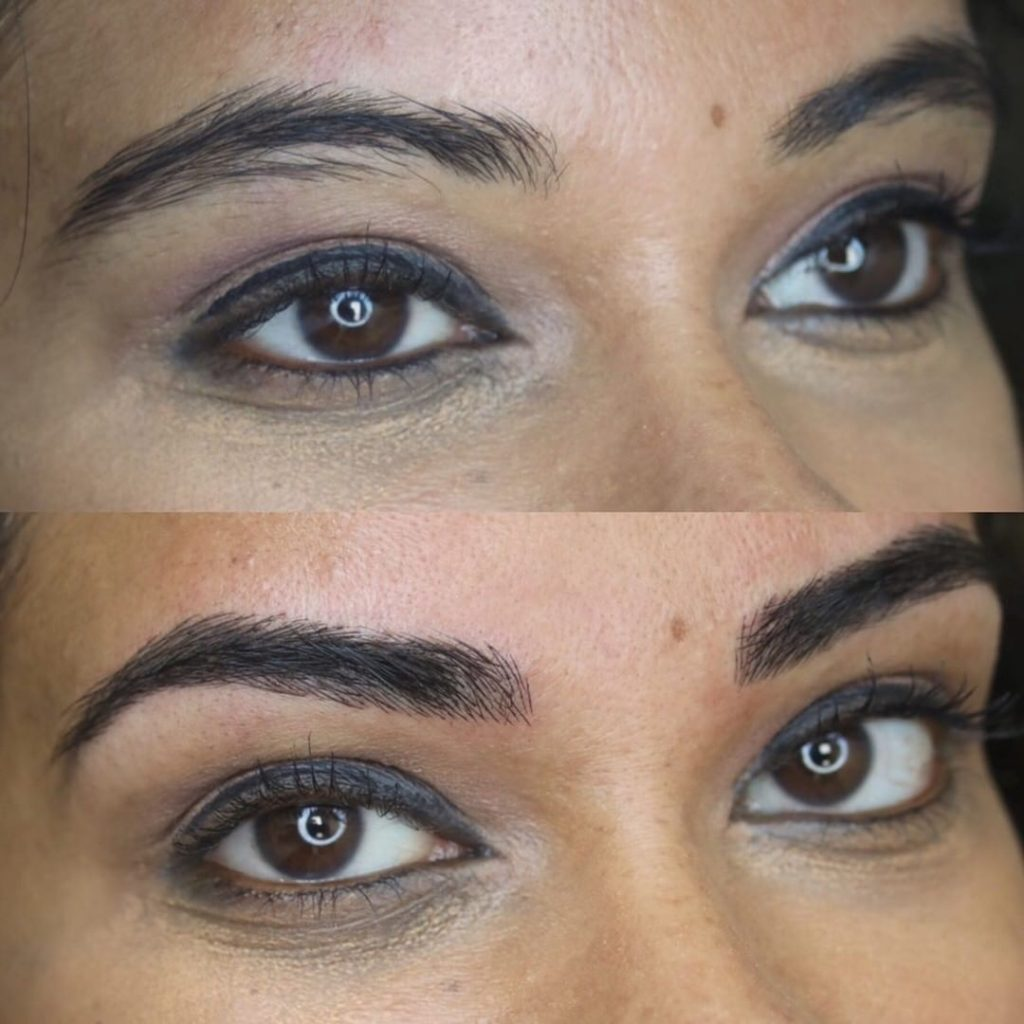BROWS my experience with microblading    - Peplum & Bubblegum